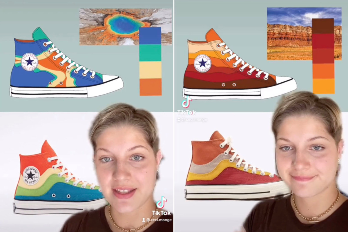 Converse accused of sneaking rejected shoe designs from interns