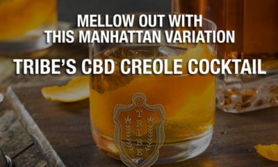 Mellow out with this Manhattan twist - Tribes Creole CBD cocktail
