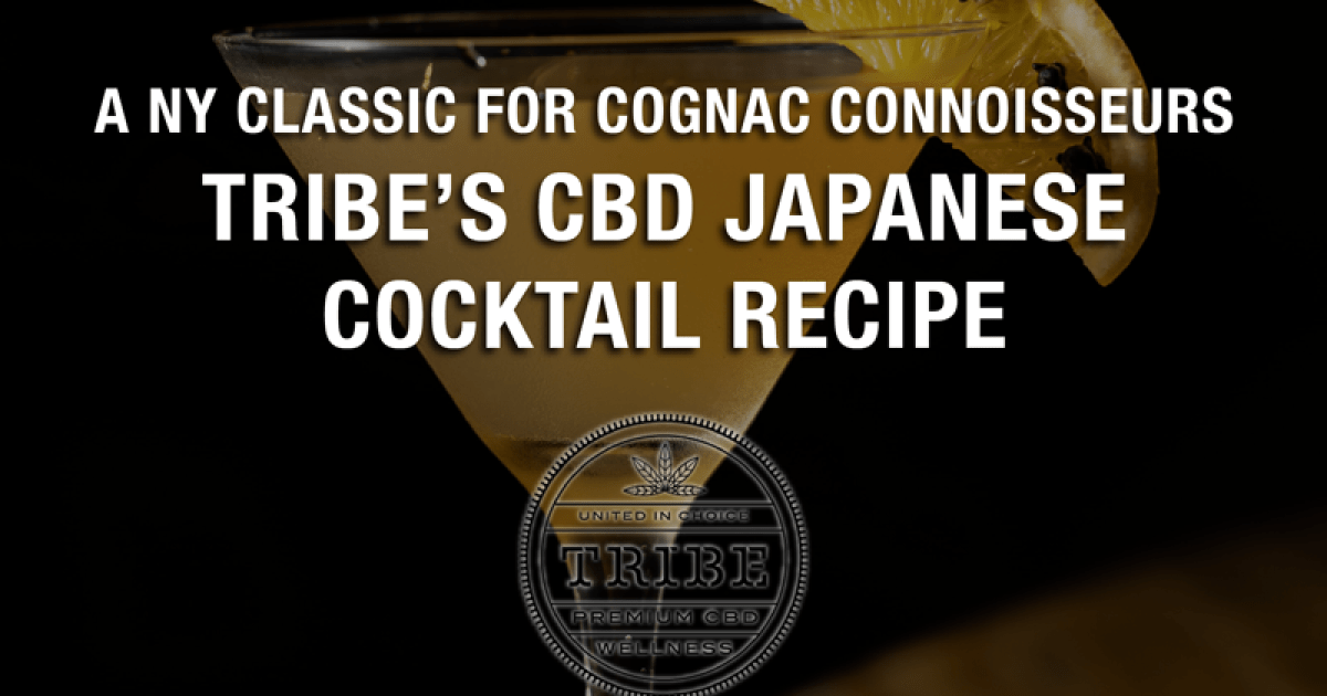 A NY classic for cognac connoisseurs - Tribes Japanese CBD cocktail