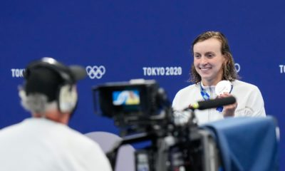 Katie Ledecky thinks the advertising market is as good as gold