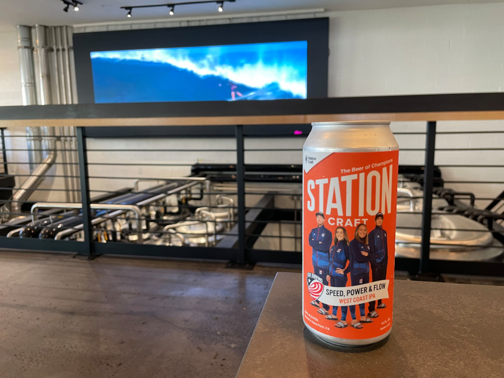 Watch parties, limited edition USA surfing IPA craft beer, get Olympic surf fans going - Orange County Register