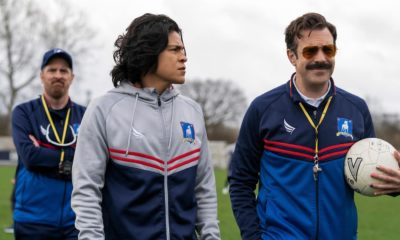 Jason Sudeikis and the 'Ted Lasso' team declare victory over the football world