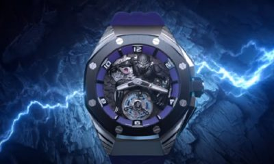 """Audemars Piguet partners with Marvel for $ 161,000 """"Black Panther"""" watch"""