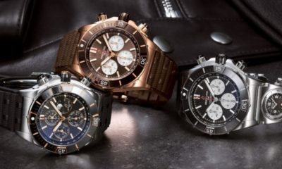 Breitling flies with the Air Force-inspired Super Chronomat watch collection