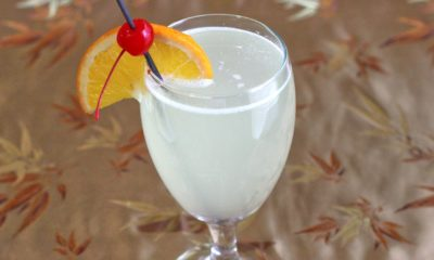 Gin Sour Cocktail Recipe | Mix the drink