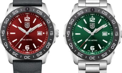 Luminox launches Pacific diving watches just in time for Father's Day