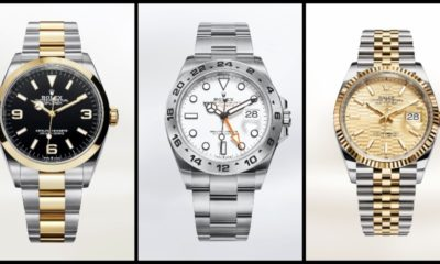 Rolex releases 5 new luxury models for watches and Wonder 2021