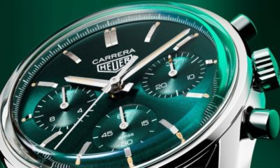 Tag Heuer Carrera goes green with a limited edition luxury watch