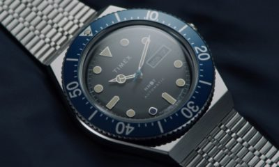 Timex goes black and blue blue with updated M79 watch