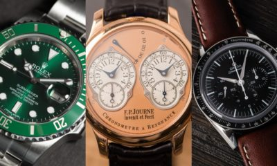5 luxury watches that will absolutely improve your everyday life