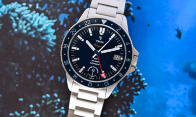 Yema goes deep with new French marine dive watch collection