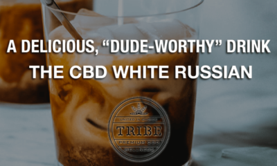 """A delicious, """"dude-worthy"""" drink - The CBD White Russian"""
