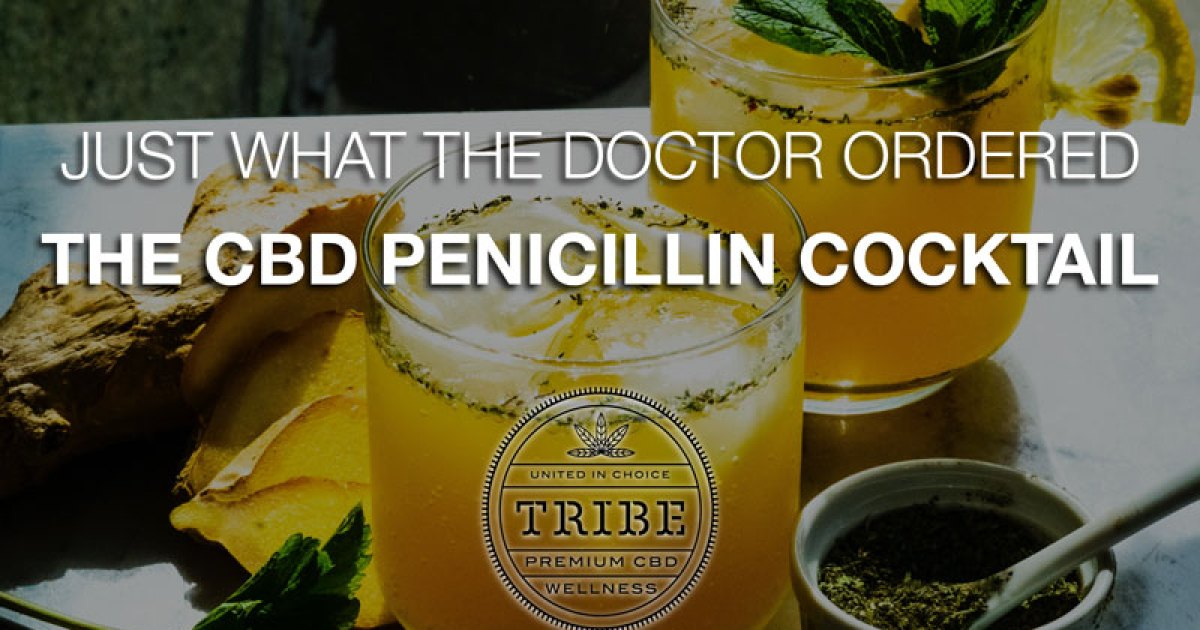 Exactly what the doctor ordered - the CBD penicillin cocktail