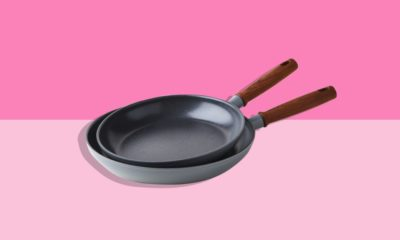 Food52 x GreenPan non-stick frying pan with wooden handle on offer 2021