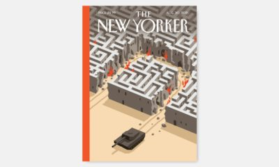 """The """"exit strategy"""" by Christoph Niemann 