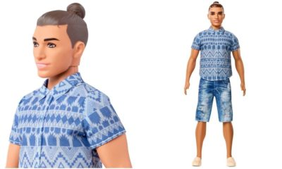 The Ken doll has a man bun now, and we're pretty sure it's a sign of the apocalypse
