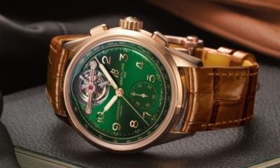 Breitling and Bentley launch limited edition red gold watch