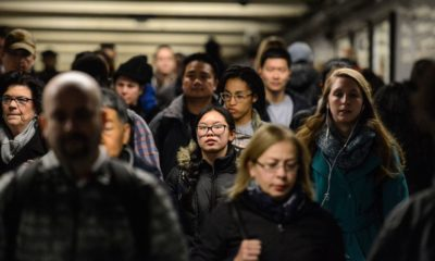 The population of New York City rises to nearly nine million