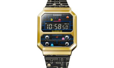 Casio Vintage celebrates 40 years of Pac-Man with a Throwback watch