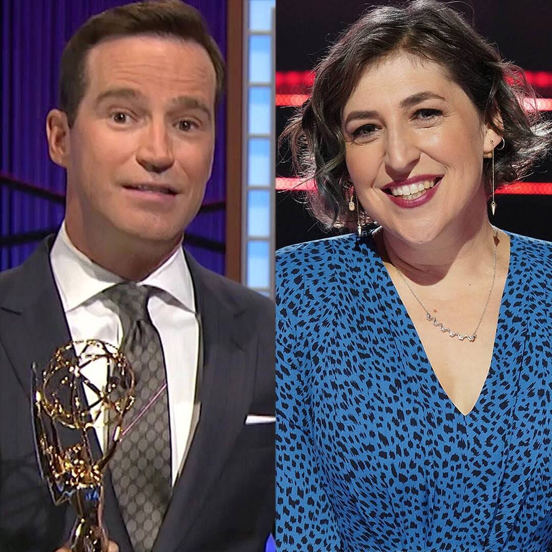 Mayim Bialik as hostess Jeopardy! After Mike Richards' Exit - E! On-line