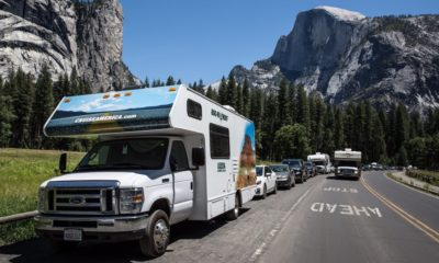 The reservation system of the national parks has got off to a bumpy start