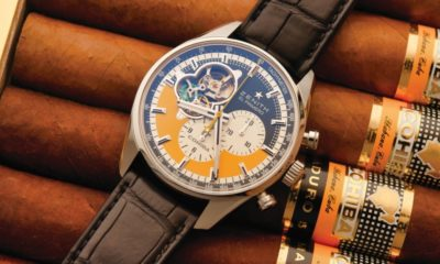 Zenith celebrates Cohiba cigars with a limited edition watch
