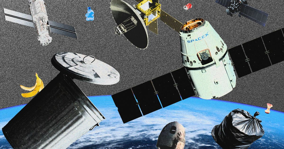 Will Earth run out of space for space junk?