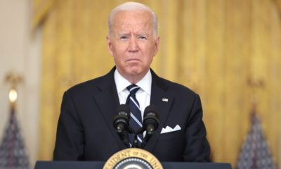 Biden's approval rating goes under water