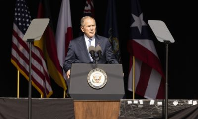 George W. Bush is right about Trump, but still wrong about the world