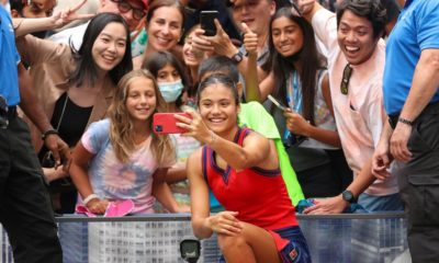 The happy teenagers who took over the US Open