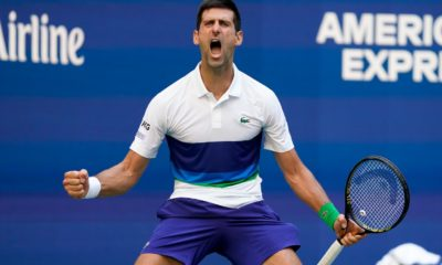 Djokovic shows emotions at the US Open; No. 1 Barty loses