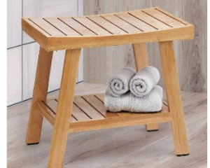 The Ivena branded 20 inch teak shower bench has been recalled. It was sold at Costco Clubs and Costco.com.