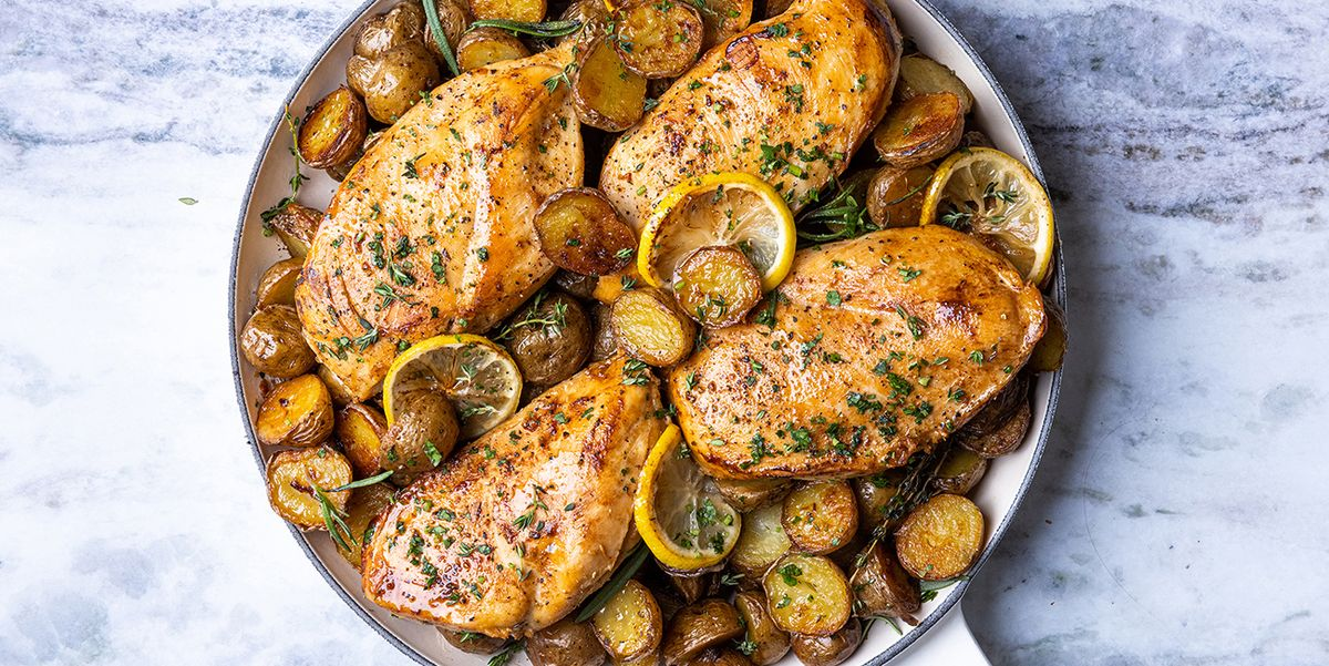 Best Skillet Chicken and Potatoes