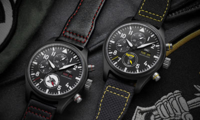 IWC launches a range of iconic new pilot's watches inspired by U.S. naval squadrons